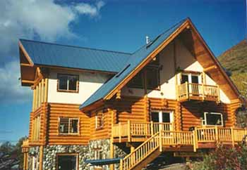 Alaska land cabins and homes for sale or rent for Alaska cabin builders