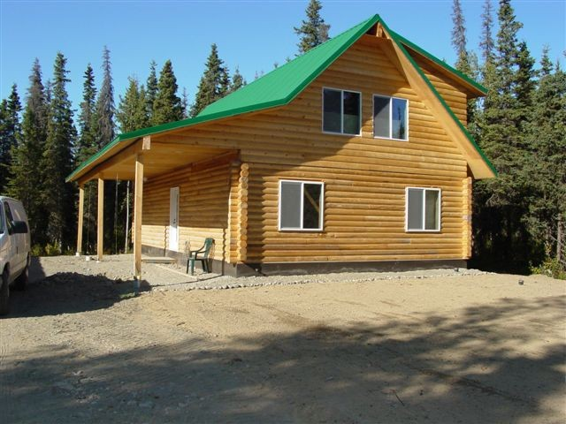 Alaska log homes for sale images for Home builders alaska