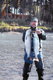 Kenai River Alaska fishing cabins